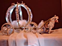Cinderella Wire Carriage Centerpieces by Cinderella Pumpkin Carriage Centerpieces