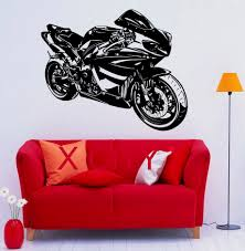 online get cheap stickers wall motorbikes aliexpress com motorbike racing motorcycle street pop cool decal wall vinyl sticker home interior removable bedroom home decor