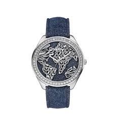 bracelet montre homme guess images Ysora montre pour femme bracelet denim cadran rond guess w0504l1 jpg