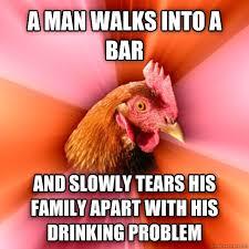 Rooster Jokes Meme - my favorite anti joke chicken meme guy