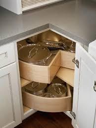 Kitchen Corner Cabinet Storage Ideas - Lazy susans for kitchen cabinets