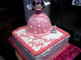 minnie mouse birthday cake youtube