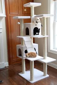 armarkat 77 inch cat tree ivory chewy com