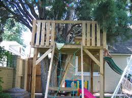 treehouse with zipline cedar tree house under a cedar tree for 3