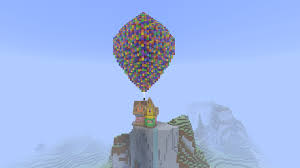 up house from disney pixar u0027s up movie creative mode minecraft