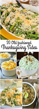 fashioned thanksgiving side dishes call me pmc