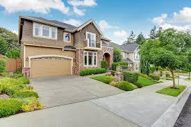 Garage Door Curb Appeal - garage doors can add curb appeal and increased value metro