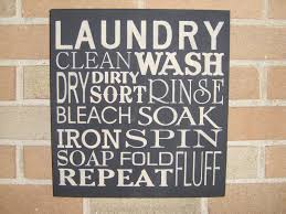 Home Decor Wall Signs by Laundry Laundry Room Signlaundry Room Decor Primitive Wood
