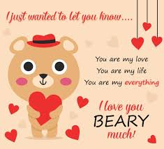 send this beary special card to someone you for free
