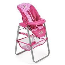chaise haute poup e bayer chic 2000 chaise haute pour poupée jusqu à 50 cm