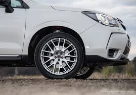 black subaru rims 2016 subaru forester ts sti review video performancedrive