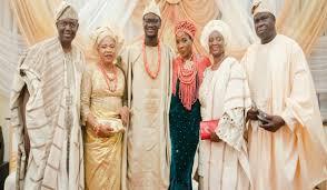 a s the extravagance of naija weddings ifashion - Naija Weddings