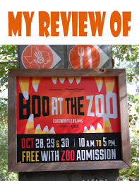 a review of ft worth zoo u0027s boo at the zoo planes trains and