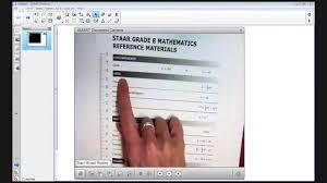staar 2013 8th grade math item analysis 41 youtube