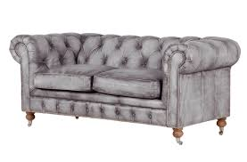 Grey Leather Chesterfield Sofa Modern Style Distressed Leather Sofas With Bellagio Distressed