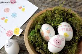Decorating Easter Eggs With Tattoos by Printable Easter Egg Tattoos Everyday Dishes U0026 Diy