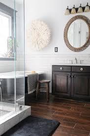 Best  Wood Floor Bathroom Ideas Only On Pinterest Teak - Hardwood flooring in bathroom