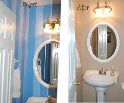 Powder Room Makeovers Photos - fresh simple powder room makeovers before and after 23281
