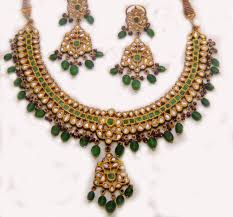 necklace set image images 22k gold kundan necklace set manufacturers in new delhi india by jpg