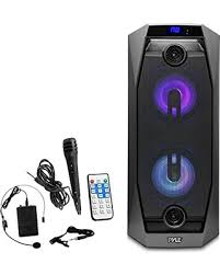 portable speaker with lights memorial day shopping special pyle wireless bluetooth portable