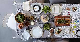 Kitchen Table Setting Ideas Contemporary Table Settings Home Decorating Inspiration