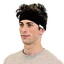 headband men kooshoo black headband for men premium sports and