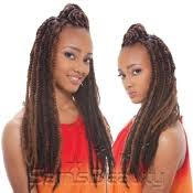 ombre marley hair synthetic hair braids janet collection noir afro twist braid