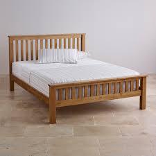 Double Bed Furniture Wood Double Beds 100 Solid Hardwood Oak Furniture Land
