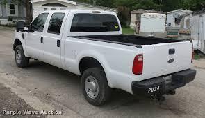 Ford F250 Pickup Truck - 2008 ford f250 super duty crew cab pickup truck item dd947