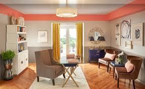 peinture mur cuisine tendance peinture interieure les couleurs tendances en travaux com couleur