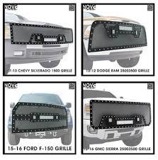 ram 1500 light bar bumper fully fits led lights 02 05 dodge ram 1500 car bumper oem grill