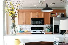 oak kitchen cabinets ideas how to update oak kitchen cabinets without painting