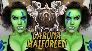 Warcraft Halloween Costume Garona Makeup Warcraft