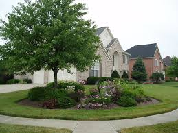 Front Of House Landscaping Ideas by Corner Lot Landscape Landscaping Pinterest Landscaping