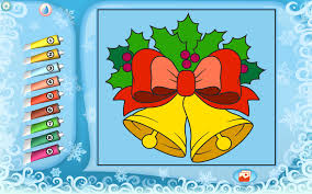 christmas bells coloring printables apps kids