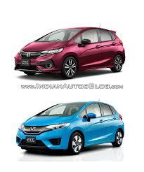 Honda Jazz Vs Honda Fit 2017 Honda Jazz Vs 2013 Honda Jazz Old Vs New