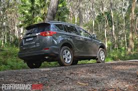 toyota rav4 consumption 2013 toyota rav4 review cruiser and gxl performancedrive