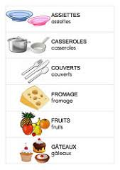 cuisine en maternelle etiquettes du coin cuisine maître françois