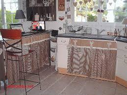 rideau meuble cuisine petit rideau de cuisine drawandpaint co
