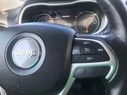 jeep xj steering wheel used 2016 jeep cherokee trailhawk in berwick used inventory