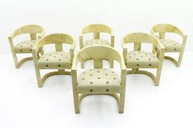dining room chairs by karl springer 1984 set of 6 for sale at pamono