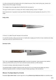 uses of kitchen knives japanese kitchen knives guide