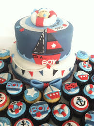 sailor baby shower sailor themed baby shower cake and cupcakes торт морской