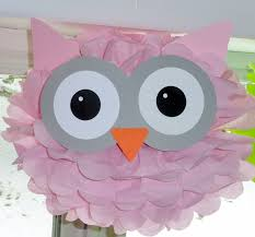 owl item owl pom pom kit baby shower first birthday party decoration