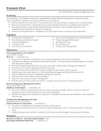 Resume Sample Qa Analyst by Software Configuration Management Analyst Resume Elegant