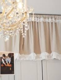 How To Make Ruffled Curtains Make Your Own Ruffled Curtains From Painter U0027s Drop Cloths
