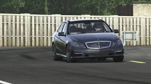 mercedes e63 amg top gear test track