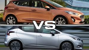 nissan ford 2017 ford fiesta vs 2017 nissan micra youtube