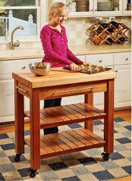 Kitchen Island Building Plans Portable Kitchen Island Plans Woodarchivist