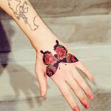 54 awesome butterfly tattoos on hand